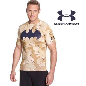"""UA Men's Batman """"ALTER EGO"""" Compression Shirt, M"""